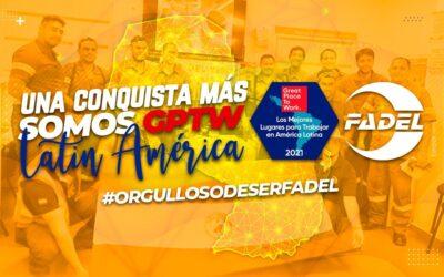 Mais uma conquista: somos GPTW América Latina